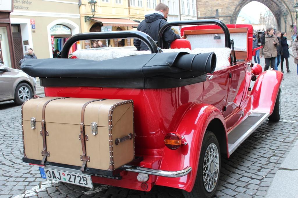 voitures pour visiter la ville