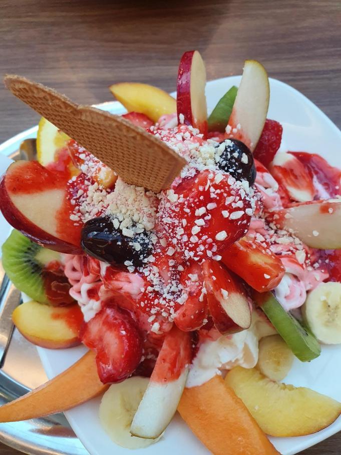 Ma glace aux fruits