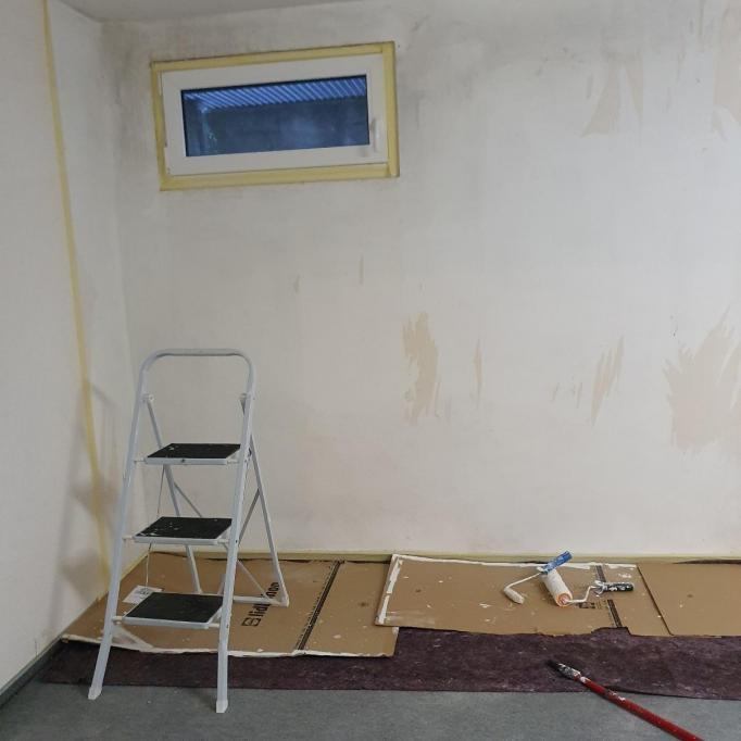 Préparation pour la peinture