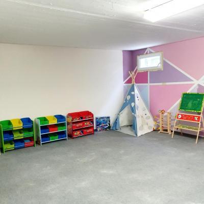 Une jolie salle de jeu pour les enfants!