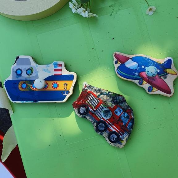 Les figures de puzzle utilisés