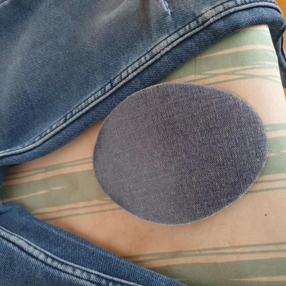 Autocolants thermoadhésifs en jeans