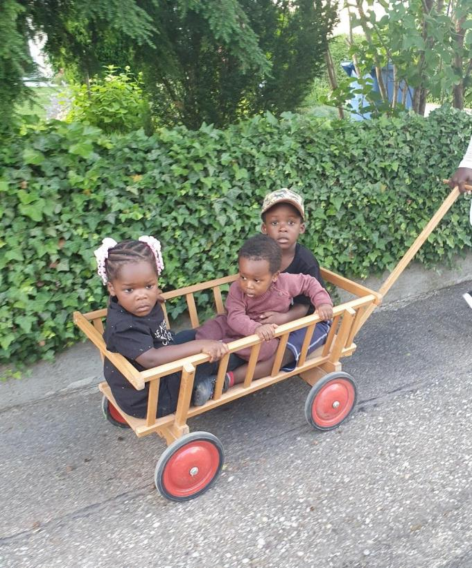 Nelle Stern wagon