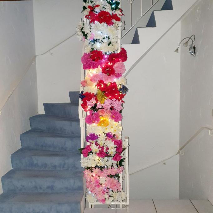 nelle Stern mur floral