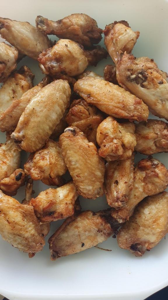 Frites d'ailes de poulet