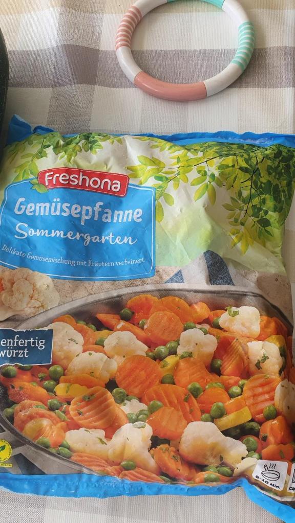 Légumes surgelés prêts á l'emploi