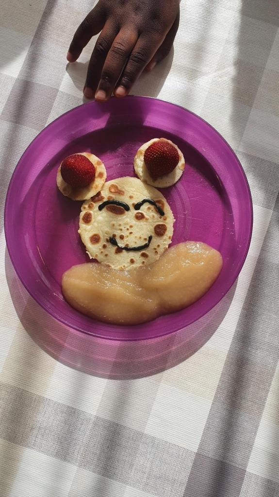 Crepe Mickey Mouse - Fraise