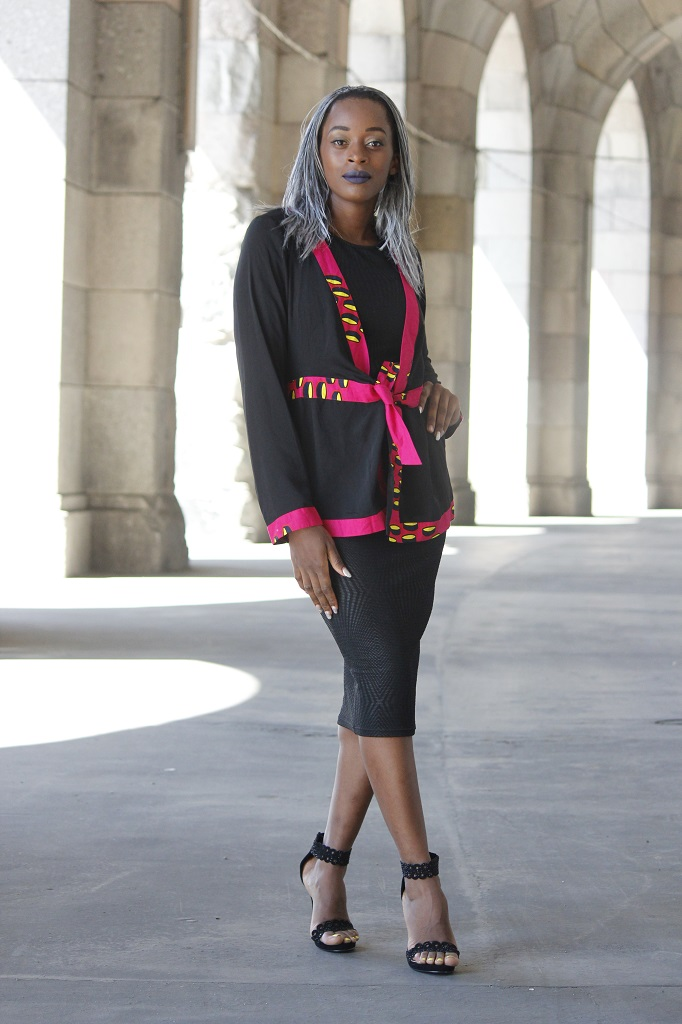 Lady in black 1