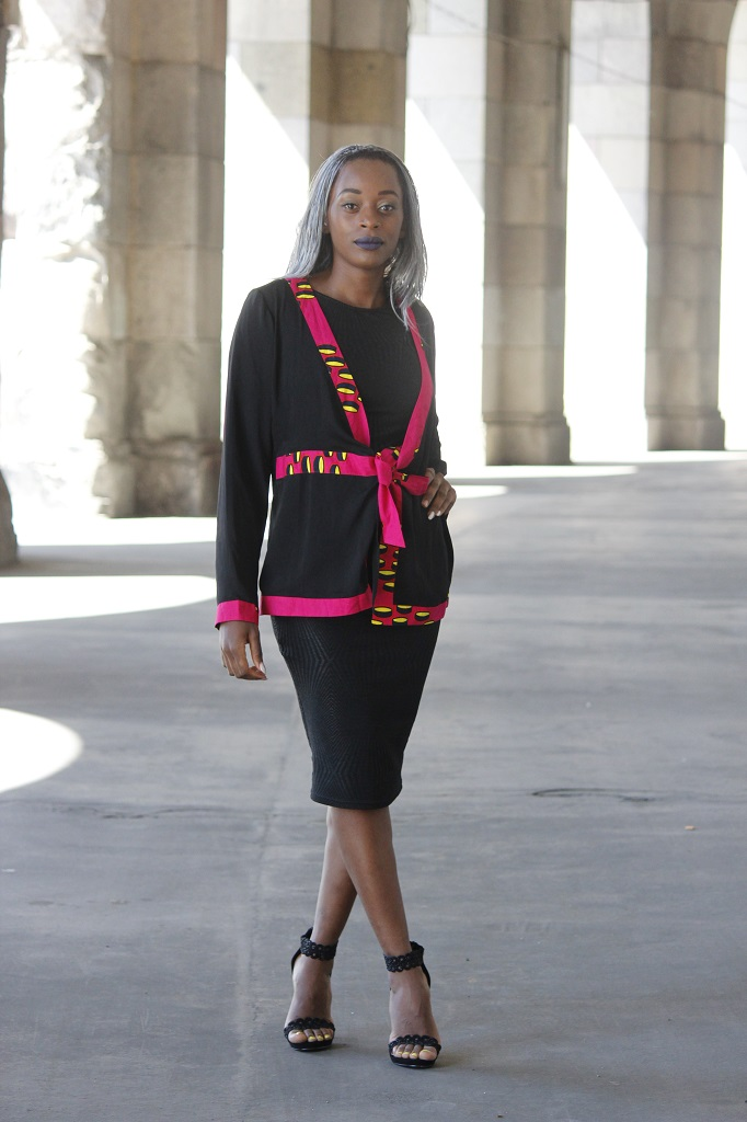 Lady in black 5