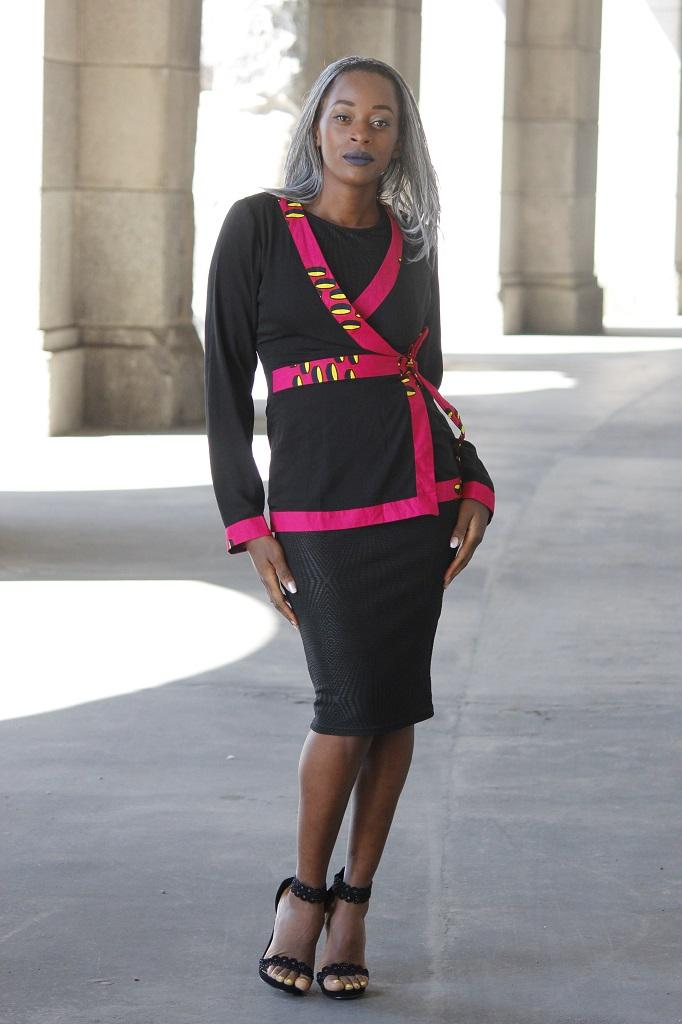 Lady in black 6