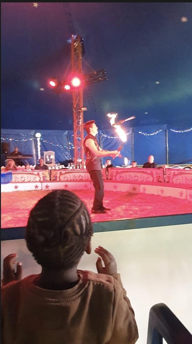 Le jongleur avec le feu