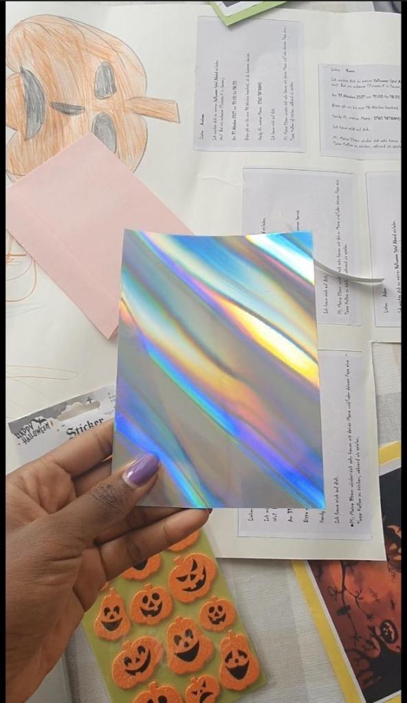 Papier métallique cartonné